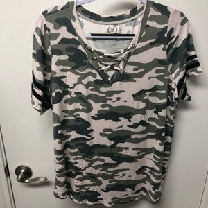 Women's Camo Blouse
